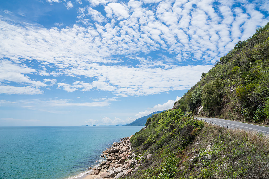 The beautiful Captain Cook Highway